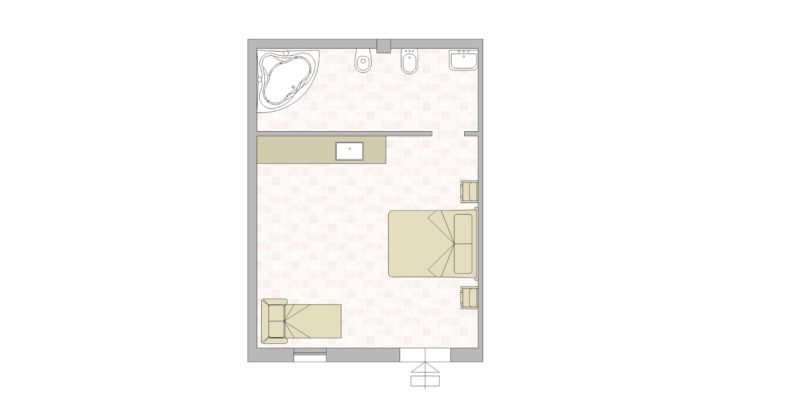 villa-7 Floor Plan. italian wedding villas