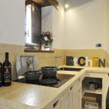 Villa 5 Kitchen area. weddings tuscany