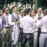 Groomsmen and best men relaxing moment, Villa San Crispolto Italy