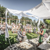 Legally Binding ceremony in the Garden Temple of Villa San Crispolto
