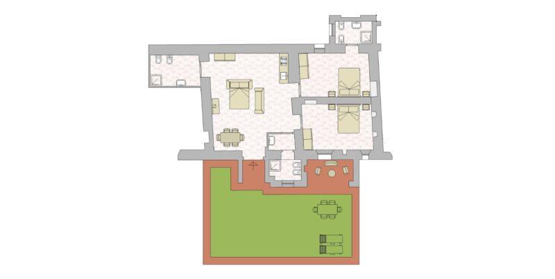 Villa 2 Floor Plan. wedding villa tuscany