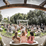 Outdoor Wedding Villa Italy. a-nice-view-of-a-legally-binding-ceremony-in-the-garden-temple-at-villa-san-crispolto