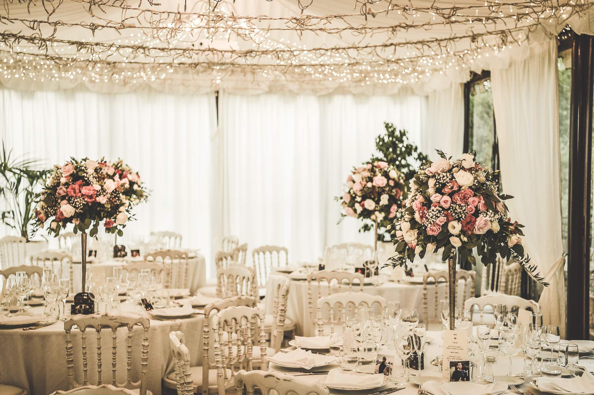 Marquee wedding ideas for your special day perfect for wedding wedding lighting 1 junglespirit Gallery