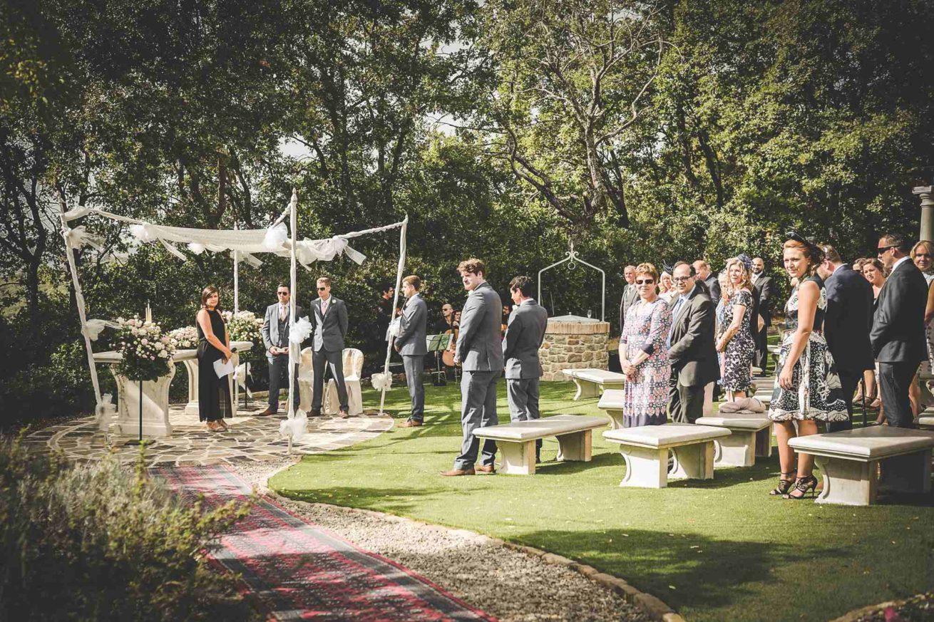 Garden Ceremonies Italy. Villa San Crispolto 4