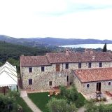 Italy Villa sleeps 30 40 people. The west side of Wedding villas Italy San Crispolto