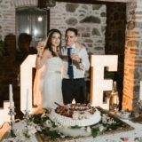 Wedding Cake presentation, Villa San Crispolto, Tuscany