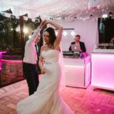 Bride and groom first dance, Villa San Crispolto