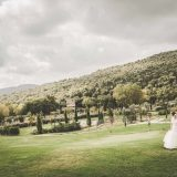 The Lush Garden of Villa Baroncino on lake Trasimeno Umbria Tuscany Cortona. Our venue for an outdoor ceremony.
