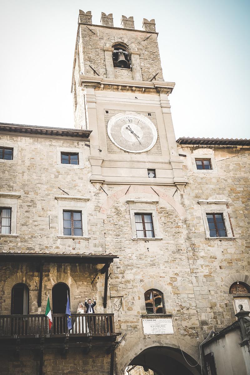 Tuscany Wedding - Cortona Town Hall 2