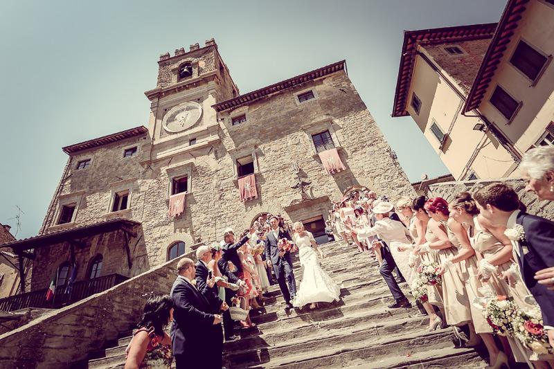 Tuscany Wedding - Cortona Town Hall 4 - luxury weddings italy - Umbria Wedding
