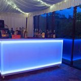 Lighted Counter Bar Blue