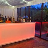 Lighted Counter Bar Peach