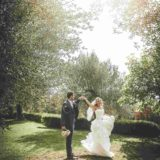 Garden villa wedding Italy. The garden of villa San Crispolto provides several areas for amazing shots.