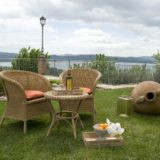 "Outdoor space for a relaxing ""glass of wine"" moment, just outside the wedding suite. italy wedding venues"