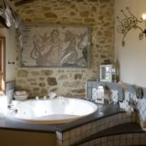 italy wedding venues. The wedding suite bathroom, detail of the Jacuzzi tub.