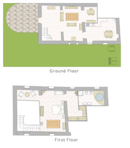 Wedding suite planimetry