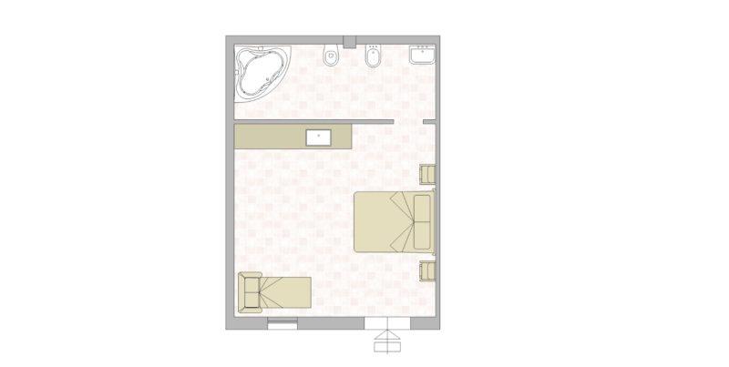 villa-7 Floor Plan. italian wedding villas