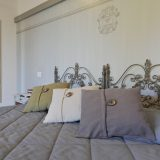 Villa 5 Detail of the Queen size bedroom. weddings tuscany