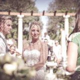 Echange of rings and vows, legally binding ceremony at Villa San Crispolto