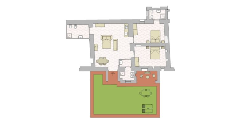 Villa 2 Floor Plan. wedding villa tuscany
