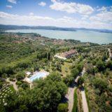 Outdoor Wedding Villa Italy. amazing-view-of-the-pool-area-garden-temple-villa-and-lake-trasimeno