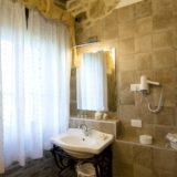 Every bathroom has courtesy lighting and hair dryer.villa wedding Italy
