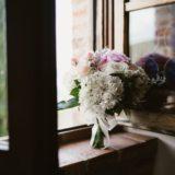 Bridal bouqet at Villa San Crispolto