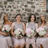 Bridemaids ready for the ceremony