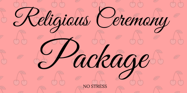 religious ceremony package