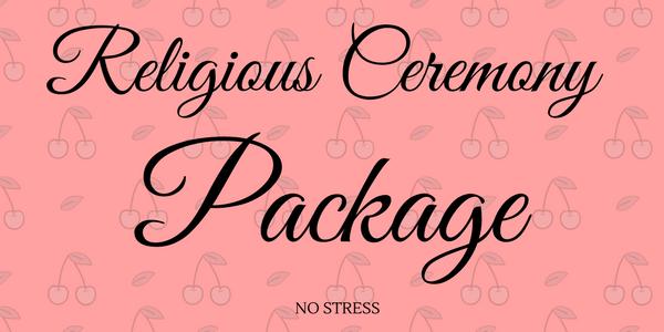 religious ceremony package