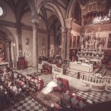 Tuscany Wedding - Cathedral of Cortona 8