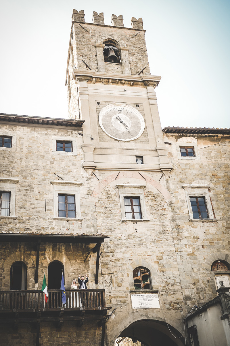 Tuscany Wedding - Cortona Town Hall 2