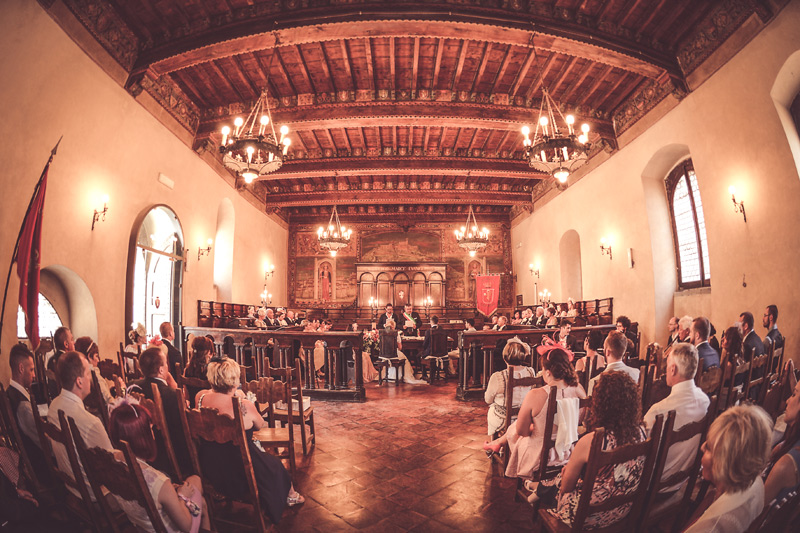 Tuscany Wedding - Cortona Town Hall 8