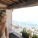 Intimate wedding for two in Cortona town hall, Tuscany followed by a photo tour to capture Tuscany most beautiful landscapes.  Elopement Italian Photographer.